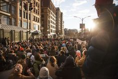 Protesters rally in downtown Boston over police killings - The Big Picture - The Boston Globe