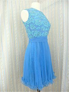 Beaded 60s party dress
