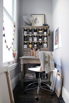 Image result for Choosing the right space Whether your fortress is a tiny studio, or a spacious condo, any space can be converted to a workspace.