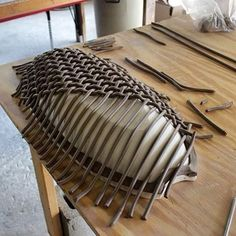 Cost clay pottery coil Suggestions Large oval woven basket-bowl in the making.Wonderful No Cost clay pottery coil Suggestions Large oval woven basket-bowl in the making. Hand Built Pottery, Slab Pottery, Pottery Bowls, Ceramic Pottery, Pottery Art, Ceramic Techniques, Pottery Techniques, Ceramic Clay, Porcelain Ceramics