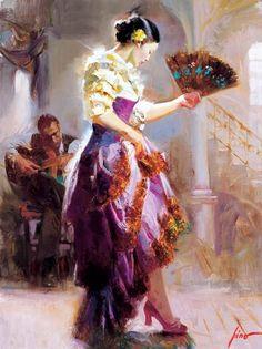 Pino Daeni |  Spanish dancer