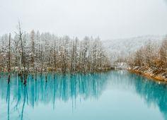 biei blue pond