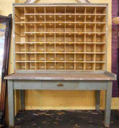 Vi/ntage Postman's Desk - $500