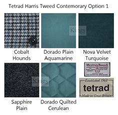 The latest Harris Tweed from Tetrad. This is option choice 1 for their new furniture range www.kingsinteriors.co.uk/brands/tetrad-harris-tweed