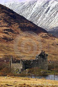 Kilchurn Castle, Loch Awe. Scotland