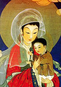 asian mary and jesus - Google Search