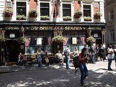 Best London Pubs sherlock holmes pub been there!!!! fun