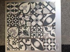 Déco carrelage aspect carreaux ciment revisités ABK Docks, Carrelages du Marais, Leroy Merlin, Castorama...
