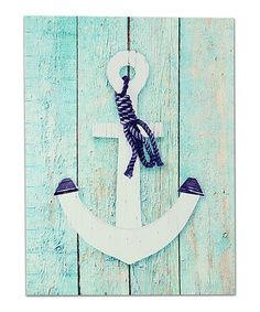 Another great find on #zulily! Anchor Wall Art #zulilyfinds