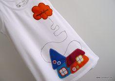 · punt a punt: Una camiseta para Laura...
