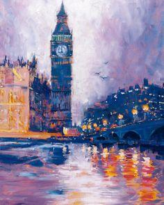 Big Ben, London Roy Avis Fine Art Print Poster