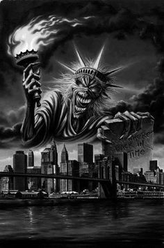 EVERY candidate wants the RING of Power. Take a minute to 🔵 Get on my private Email List while this channel still exists: http. Arte Horror, Horror Art, Tattoo Studio, Iron Maiden Posters, Iron Maiden Albums, Eddie The Head, Metallica Art, The Crow, Oakland Raiders Logo