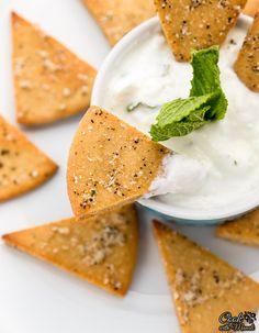 whole wheat pita chips with yogurt dip healthy whole wheat pita chips ...