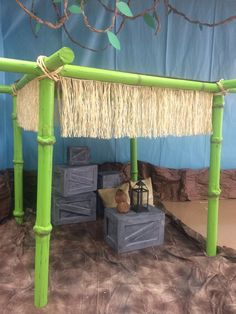 Need a VBS theme? Transform your VBS classroom into an African Safari. See all the ideas here! Safari Party, Safari Theme, Jungle Theme, Jungle Party, Jungle Decorations, Bible Activities For Kids, Vbs Themes, Tiki Party, Luau Party