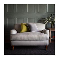 Marlborough Snuggle Chair - Cotton/Linen Mix