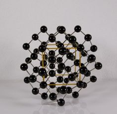 Vintage molecular atomic structure model of Diamond These models, used for chemistry education classroom purposes Atomic Structure Model, Old Models, Space Age, Chemistry, Classroom, Education, Diamond, Image, Etsy