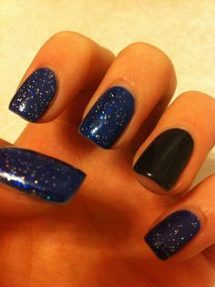 Winter nails <3 i am in love