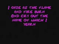 W.A.S.P - Sleeping In The Fire Lyrics.WMV
