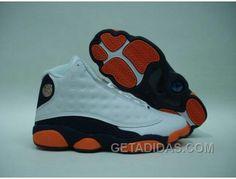 0e3c1d07b5d93d Air Jordan 13 Retro Low LS White Obsidian Orange Flash Authentique