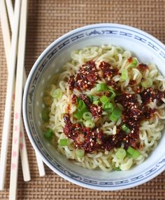 Spicy Ramen Noodles with Korean Chili Dressing by SeasonWithSpice.com