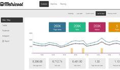 Metricool es una plataforma gratuita que nos ofrece analítica web, monitorizar nuestras redes sociales y programar contenidos en una sola herramienta.