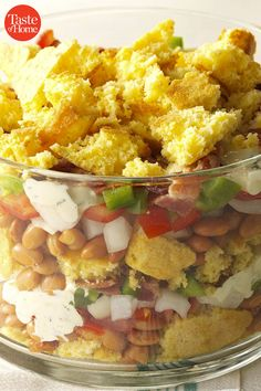 100 Summer Salads That'll be a Hit at Your Next Cookout Summer Salad Recipes, Summer Salads, Poppy Seed Fruit Salad, Grilled Side Dishes, Cornbread Salad, Real Food Recipes, Yummy Food, Clean Eating, Healthy Eating