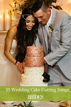 Looking for the perfect tune to play while cutting the cake? Find plenty of sugary-sweet songs to choose from! Music Wedding Cakes, Wedding Mc, Music Cakes, Best Wedding Songs, Wedding Reception Music, Wedding Dance Songs, Wedding Pins, Wedding Photos, Cake Cutting Songs