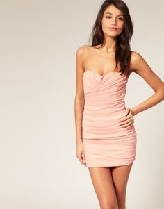 Cute winter ball dress, maybe after-prom dress