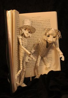 Dr Jekyll and Mr Hyde Book Sculpture by *wetcanvas on deviantART