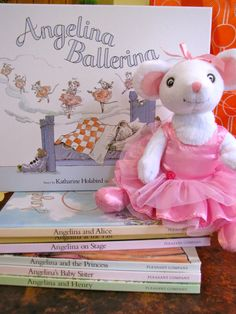 learning with Angelina Ballerina: make a mouse ears headband, have an Angelina-themed play date. Home schooling website