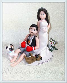Handmade Personalised Bride And Groom Wedding by DesignsByDenisa