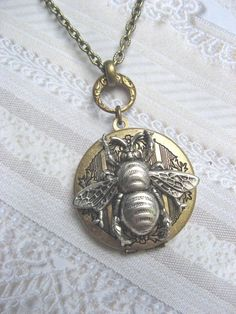queen bee locket