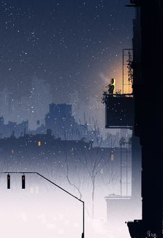Photo: Sometimes, I just can't sleep. My brain goes a hundred miles an hour when my body just wants to shut down..I'm fully awake but I can't really focus so I just get out where it's colder and I wait. #pascalcampion