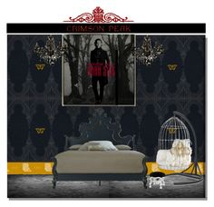 """""""Indulge Your Dark Side with Crimson Peak : Contest Entry"""" by yours-styling-best-friend ❤ liked on Polyvore featuring interior, interiors, interior design, home, home decor, interior decorating, John-Richard, Mitchell Gold + Bob Williams, Eichholtz and vintage"""