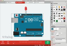 NEW Jan 2018 - Fritzing An Open Source software program for designing electrical components, circuit boards, etc.-Windows XP, Vista, Mac OS X Linux. Pcb Design Software, Cnc Software, Electronic Circuit Design, Electronic Engineering, Layout, Arduino Circuit, Open Source Hardware, Gadgets, Circuit Diagram