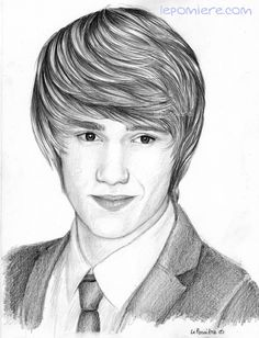 Drawing of Liam Payne