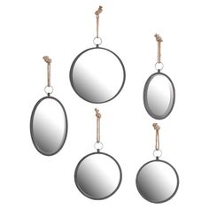 5-Piece Norton Wall Mirror Set