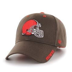 a69156891d15be Adult '47 Brand Cleveland Browns Frost MVP Adjustable Cap, Ovrfl Oth  Cleveland Browns,