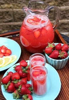Easy strawberry lemonade recipe