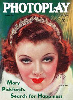 Photoplay Magazine - February 1935 (Myrna Loy)