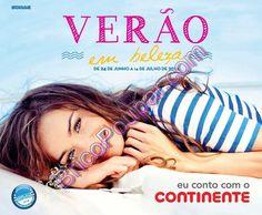 Novo Folheto Continente - Verão em Beleza - de 24 de junho a 14 de julho