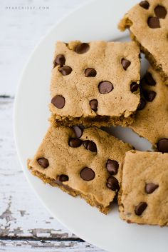 Brown Sugar Brownie Bars - Sweet, chewy and chocolatey. What could be better? Pin it now and try it later!