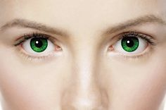 Emerald Green Contact Lenses, I prolly won't have to do this since I have the lighter pigment hazel eyes, plussss I've never bought contacts before and sticking things in my eye freaks me out.