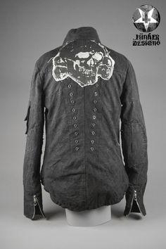 Image of Junker Designs Men's Denim Manson Jacket