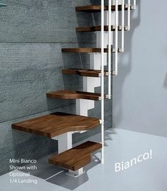 Mini Bianco Space Saver Loft Staircase > Space Saver loft stairs > Home Page > Spiral Stairs Direct