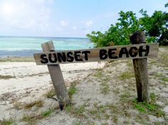 MUST. GO. SOON. Sunset Beach, Mana Island, Fiji