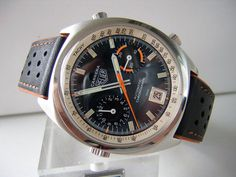 Vintage Heuer Carrera Automatic Chronograph