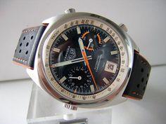 Vintage Heuer Carrera Automatic Chronograph