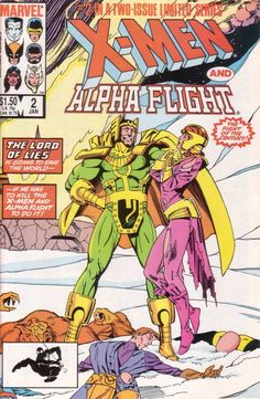 X-Men and Alpha Flight # 2 by Paul Smith & Bob Wiacek