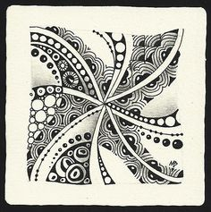 Zentangle by Margaret Bremner, Certified Zentangle Teacher